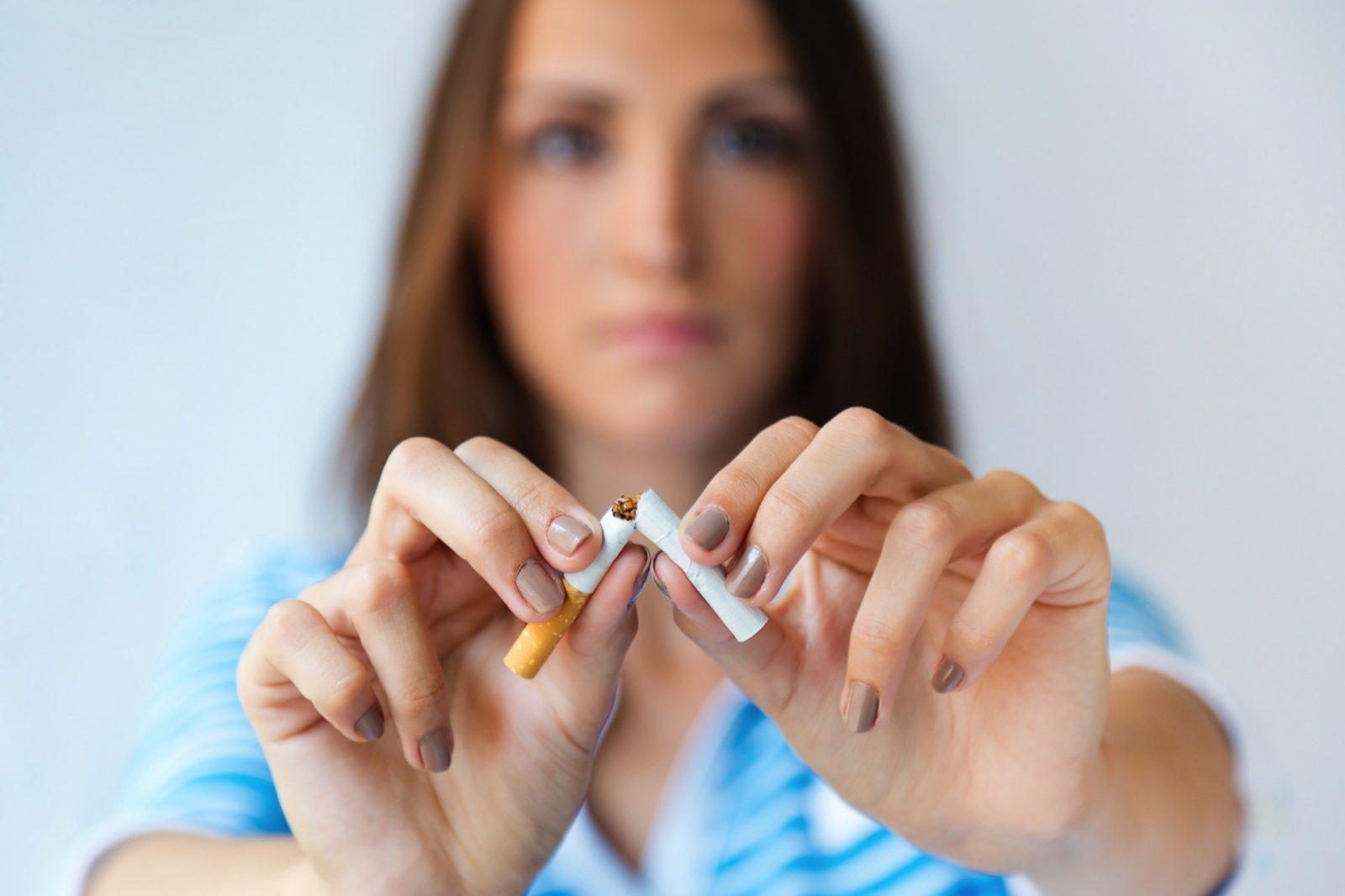 C'est décidé j'arrête de fumer !