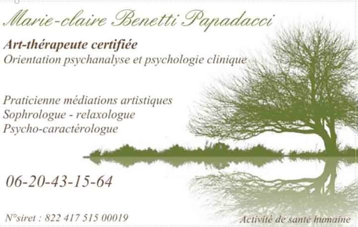 Marie-Claire Benetti Papadacci Art-thérapeute certifiée - Casabalma